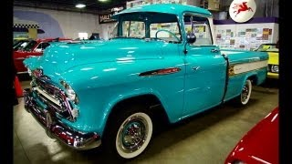 1957 Chevrolet Cameo Pickup 283 V8 4 BBL Four-Speed