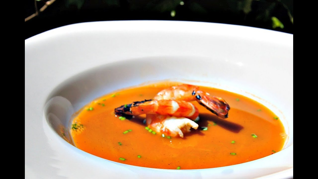How To make a Bisque - Barbecued Shrimp or Lobster soup Recipe - Pitmaster X - YouTube