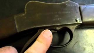 Reloading And Shooting The Martini Cadet Rifle Part 1