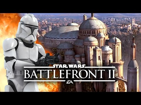 Star Wars Battlefront 2 News - Theed City, Tanks Confirmed! New Weapons, Classes, Hero Abilities!