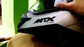 unboxing & review helmet MTX by YAMAHA