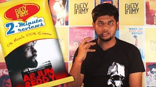 Arjun Reddy 2-Minute Review | Vijay Devarakonda | Fully Filmy
