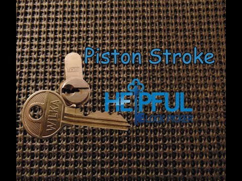 [89] Piston Stroke Challenge Lock Picked and Gutted Created By T&J's Lockpicking Nord