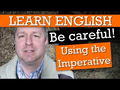 """Learn 10 Ways to Use the English Verb """"To be"""" in the Imperative"""