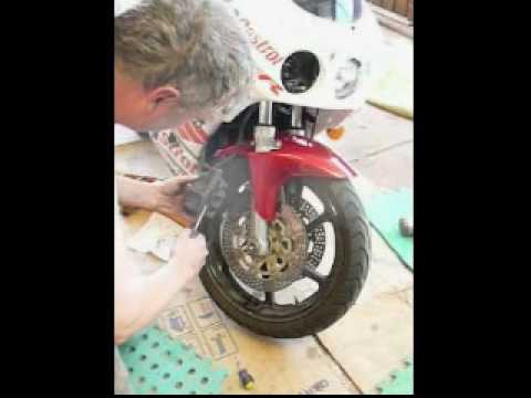 CBR250RR Custom fairing kit fitment mud guard not tyga kit. (part 1 of 4)