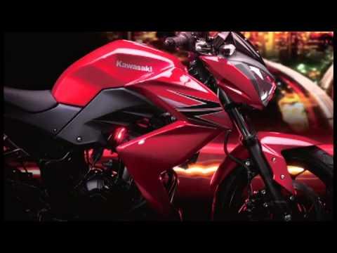 Teaser Kawasaki Z250 Thailand