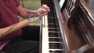 Piano without fingers...  Just As I Am, Without One Plea