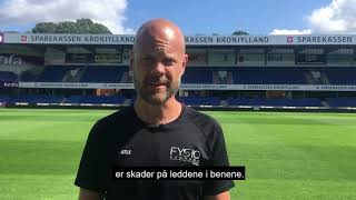 FysioDanmark og Randers FC sætter fokus på skadesforebyggende træning