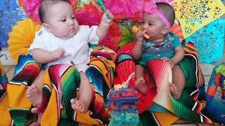 Twin baby maraca SLAP!!!