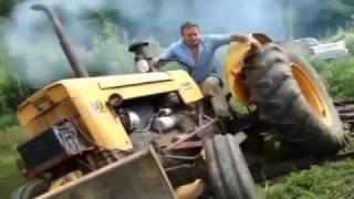 Приколы тракторов видео на ютубе  Смотреть трактора!