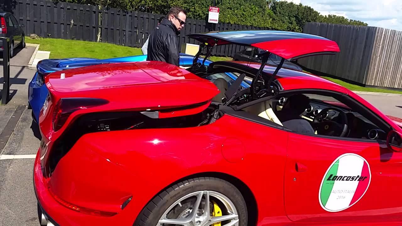 Ferrari California T Roof.