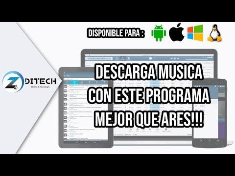 Descarga Musica con este programa, Mejor que ARES!!!