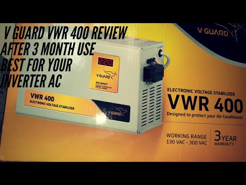 review of v guard vwr 400 electronic voltage stabilizer