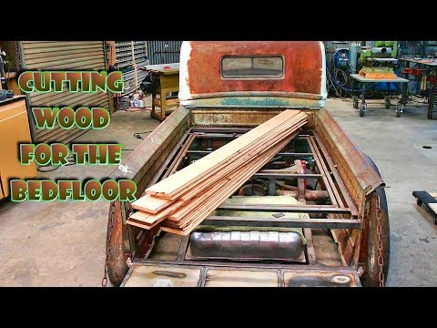 Wood for the Bed Floor (part 23) '47 FORD truck build