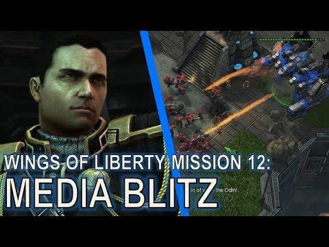 Starcraft II: Wings of Liberty Mission 12 - Media Blitz [Blitzkrieg Achievement Guide]