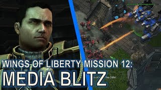 Starcraft II: Wings of Liberty Mission 12 - Media Blitz [Blitzkrieg Achievement Guide]