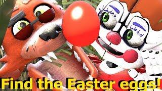 Baby Foxy Easter Egg Hunt [FNAF SFM] Animation