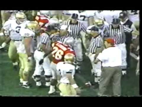 1995: Ohio State v. Notre Dame (Drive-Thru)
