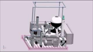 Anlagensimulation der Industrie-4.0-Anlage mit Siemens NX/MCD