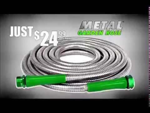 Metal Garden Hose Commercial As Seen On Tv Youtube