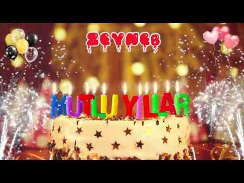 İyi ki doğdun ZEYNEB doğum günün kutlu olsun, Mutlu Yıllar Zeyneb, İsme Özel Doğum Günü Şarkısı