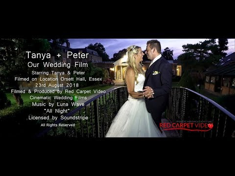 Orsett Hall Wedding Highlights - Tanya & Peter