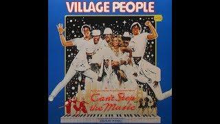 Can't Stop the Music Soundtrack- Village People LP VINYL FULL ALBUM