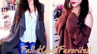 Fall Clothing Haul & Favorites! | 2015 | Kayleigh Noelle