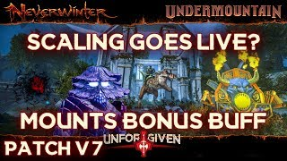 Neverwinter Mod 16 - Patch v7 Scaling Goes Live Mounts Equip Powers Buff And More (1080p)
