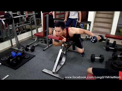 Tập VAI cơ bản cho người mới | Bài tập hiệu quả nhất | Ryan Long Fitness