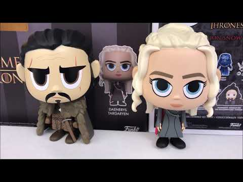 Funko Vynl JON SNOW /& DAENERYS TARGARYEN Game of Thrones Figures 2-Pack
