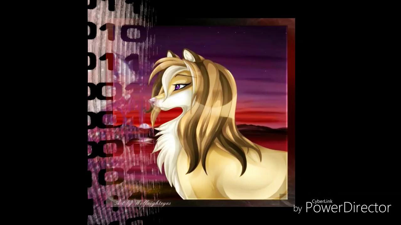Картинки аниме волков - YouTube