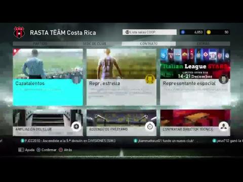 Pes2018 domngo 16 12 17 champions Costa Rica