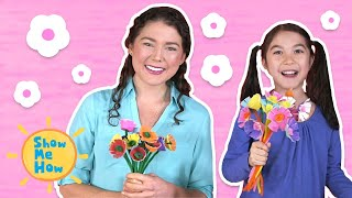 Diy Egg Carton Flowers Kids Craft | Show Me How By Mother Goose Club Schoolhouse
