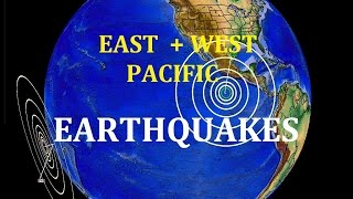 4/28/2016 -- Two large M7.0 + M6.9 (m6.6) Earthquakes strike the West + East Pacific - AGAIN