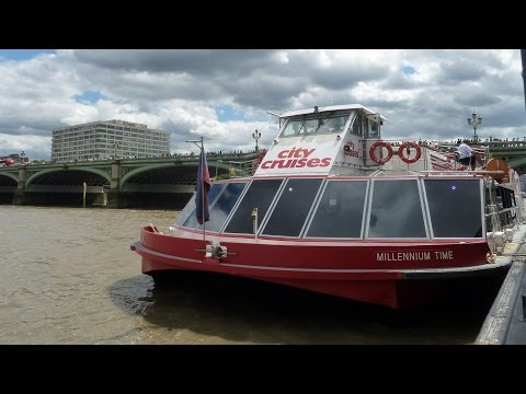 London River Cruise by City Cruises along the Thames