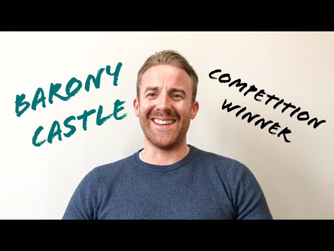 WATCH TO FIND OUT IF YOU ARE THE WINNER OF OUR FREE STAY AT BARONY CASTLE IN PEEBLES