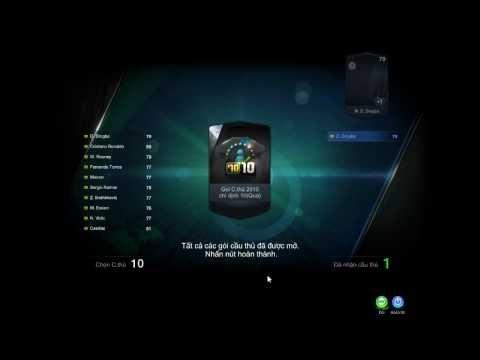 [FIFA ONLINE 3 VN] Cách mở gói cầu thủ ra DROGBA SS10