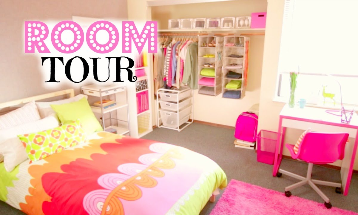 Back To School Room Organization Room Tour Youtube