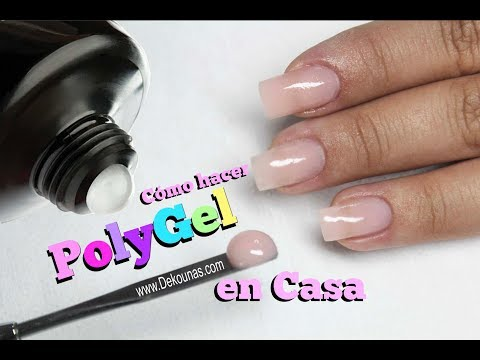 Como hacer Polygel en casa - How to do PolyGel at home
