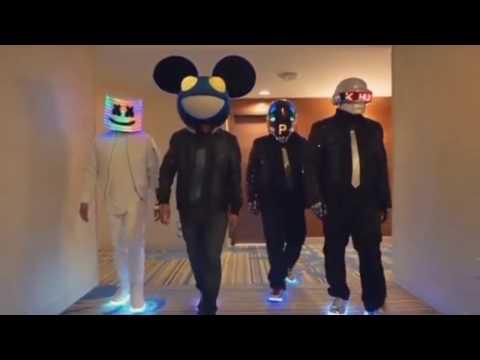 Marshmello VS Deadmau5 - Alone Remix    Ft Daft Punk