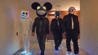 Marshmello Vs Deadmau5 Alone Remix Ft. Daft Punk.mp3
