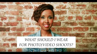 What should I wear for Photo/Video ShootS?(If you have a Photo or Video shoot coming up and you have absolutely NO idea what to wear, this video is for you. These 3 simple rules will help make your outfit ..., 2015-12-10T04:48:45.000Z)