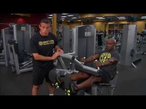 Ultimate 30-Minute Workout by Gold's Gym: Exercise 8 - Leg Curls