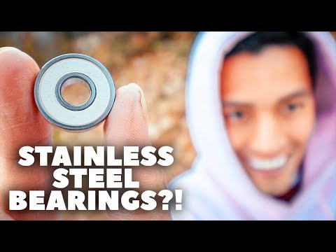 WEATHERPROOF SKATE BEARINGS!! *My Prayers Have Been Answered*