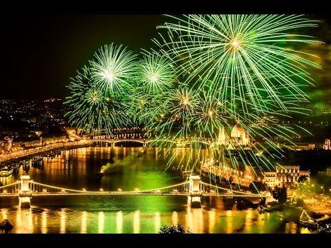 2017 aug 20 tűzijáték Duna tv / Budapest,Hungary Fireworks HD