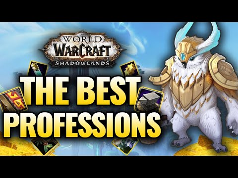 CHOOSE WISELY! The Best Professions for Shadowlands! Gold Making, Endgame, Legendaries, Raid Guide!