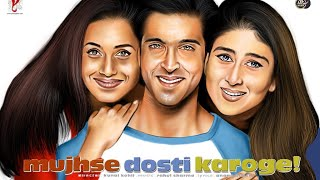 MUJHSE DOSTI KAROGE! 2002 | Hrithik Roshan | Rani Mukerji | Kareena Kapoor | Digital Painting