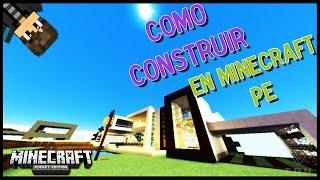 CONSEJOS PARA CONSTRUIR EN MINECRAFT PE - Minecraft PE 0.13.0 (Pocket Edition)
