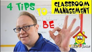 CLASSROOM MANAGEMENT - PART 1 - ESL Teaching tips - Mike's Home ESL